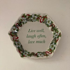 Spode HOLIDAY Trinket Plate